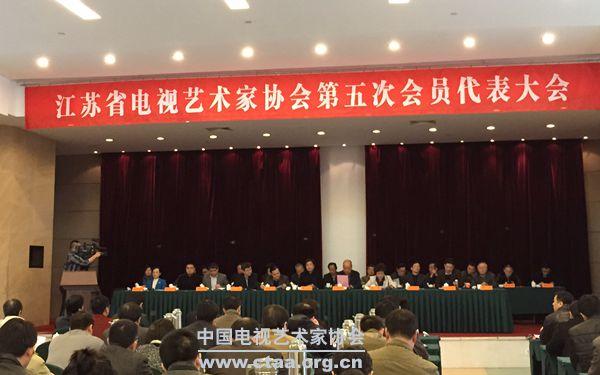 2015(江苏省电视艺术家协会第五次会员代表大会在南京召开)