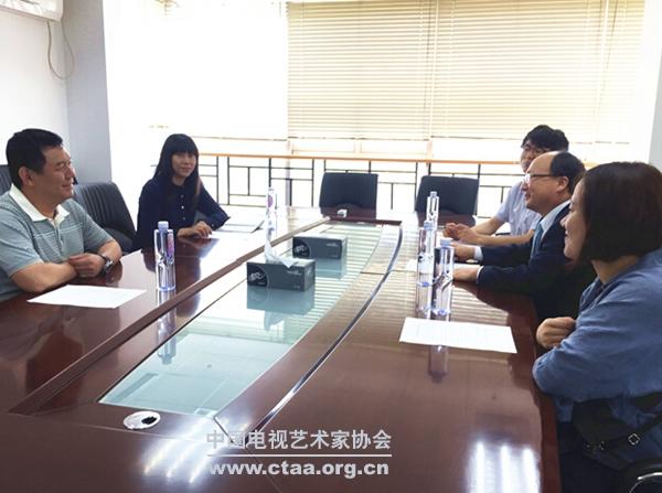 2015(中国视协领导会见韩国釜山国际影视节目展代表团)