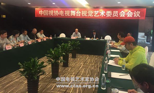 2016(中国视协电视舞台视觉艺术委员会主任工作会在江苏举行)