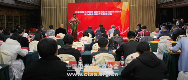 2017(中国视协影视机构委员会举行挂牌仪式)