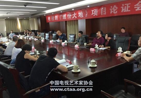 2015(电视剧《燃情大地》项目论证会在京举办)