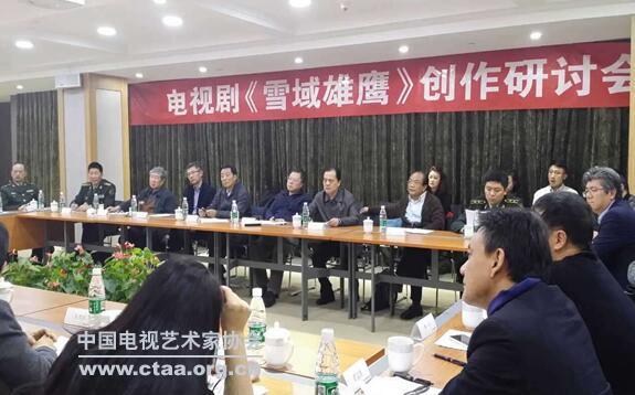 2015(电视剧《雪域雄鹰》研讨会在北京举行)